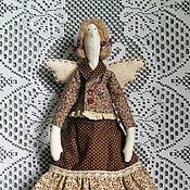 Куклы и игрушки ручной работы. Ярмарка Мастеров - ручная работа Кофейная фея Тильда. Handmade.