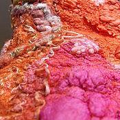 Одежда ручной работы. Ярмарка Мастеров - ручная работа Жилет нуно-войлочный  Зарождение Вселенной. Handmade.