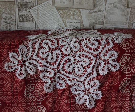 """Текстиль, ковры ручной работы. Ярмарка Мастеров - ручная работа. Купить Кружевная салфетка """"Сказочное Брюгге"""". Handmade. Белый"""