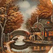 Украшения handmade. Livemaster - original item Autumn evening. Handmade.