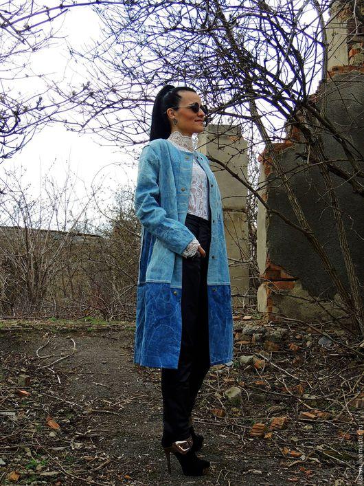 пальто летнее, пальто бохо, бохо пальто, стиль бохо, городской стиль, пальто джинсвовое