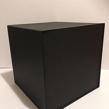 Материалы для творчества ручной работы. Ярмарка Мастеров - ручная работа Чёрная Коробка на магнитах. Handmade.