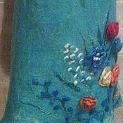 """Одежда ручной работы. Ярмарка Мастеров - ручная работа юбка """"ЦВЕТЫ"""""""". Handmade."""