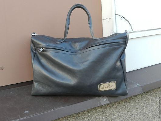 Женские сумки ручной работы. Ярмарка Мастеров - ручная работа. Купить сумка серая SAlex. Handmade. Серый