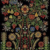 Схемы для вышивки ручной работы. Ярмарка Мастеров - ручная работа Схема для вышивки: Оберег-Древо Жизни. Handmade.