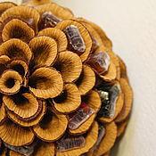 """Сувениры и подарки ручной работы. Ярмарка Мастеров - ручная работа Шишка-""""Немалышка"""" букет из конфет. Handmade."""
