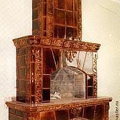 """Для дома и интерьера ручной работы. Ярмарка Мастеров - ручная работа """"Шоколадный"""" камин. Handmade."""
