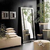 Для дома и интерьера ручной работы. Ярмарка Мастеров - ручная работа Зеркало в мозаичной раме, напольное. Handmade.