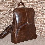 Сумки и аксессуары handmade. Livemaster - original item Model 153 genuine leather Backpack. Handmade.