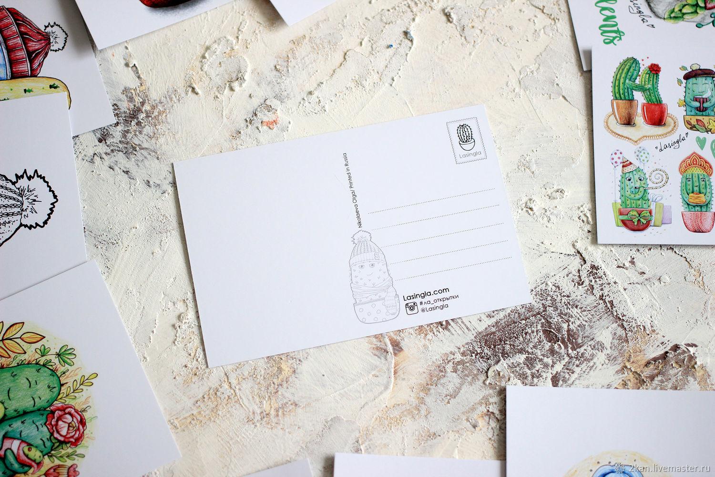 Почтовые открытки рисунок 41, новый