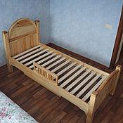 Кровати ручной работы. Ярмарка Мастеров - ручная работа Кровать из массива ясеня. Handmade.