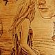 """Фэнтези ручной работы. Заказать Картина """"Мечты Ассоль"""". Творческая мастерская Григория. Ярмарка Мастеров. Алые паруса, корабль, фанера"""
