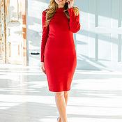 Одежда handmade. Livemaster - original item Dress RED. Handmade.