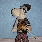 Куклы и игрушки ручной работы. Ярмарка Мастеров - ручная работа Текстильная кукла Обезьяна Мартин. Handmade.