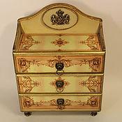 Для дома и интерьера handmade. Livemaster - original item Chest of drawers decorative Boudoir. Handmade.