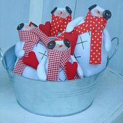 Куклы и игрушки ручной работы. Ярмарка Мастеров - ручная работа Тильда Снеговик. Handmade.