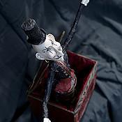 Куклы и игрушки ручной работы. Ярмарка Мастеров - ручная работа Мефисто, цирковой импресарио. Handmade.