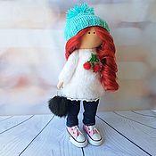 Куклы и пупсы ручной работы. Ярмарка Мастеров - ручная работа Текстильная кукла с красивыми локонами. Handmade.