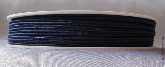 Чешский сутаж (темно-синий 7703)