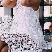 """Одежда ручной работы. Ярмарка Мастеров - ручная работа Ажурное платье """"Аделина"""". Handmade."""