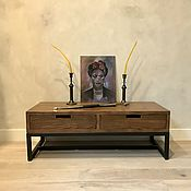 Для дома и интерьера handmade. Livemaster - original item TV stand made of solid elm (project g. Moscow). Handmade.