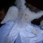 Куклы и игрушки ручной работы. Ярмарка Мастеров - ручная работа Белый ангел. Коллекционная игрушка ручной работы.. Handmade.