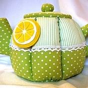 Для дома и интерьера ручной работы. Ярмарка Мастеров - ручная работа Зеленый чай с лимоном. Handmade.