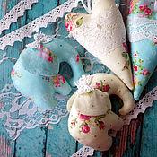 Куклы и игрушки ручной работы. Ярмарка Мастеров - ручная работа Лавандовые слоники. Handmade.