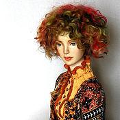 Куклы и игрушки ручной работы. Ярмарка Мастеров - ручная работа Октябрина Авторская коллекционная кукла. Handmade.