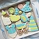 """Подарки для новорожденных, ручной работы. """" Angel """"  имбирные пряники.. Печенюшки от Танюшки. Интернет-магазин Ярмарка Мастеров."""