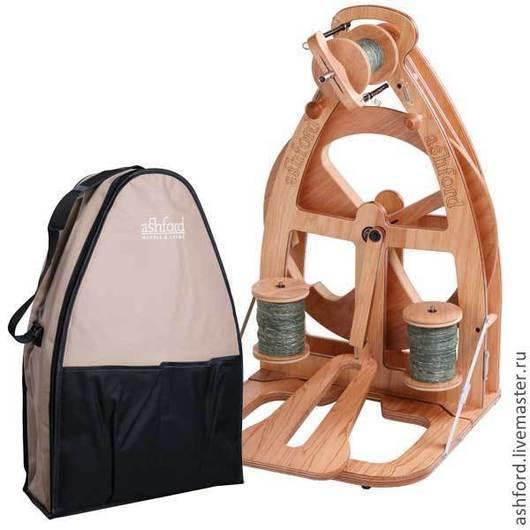 Другие виды рукоделия ручной работы. Ярмарка Мастеров - ручная работа. Купить Прялка Joy, с одной педалью + сумка!. Handmade.