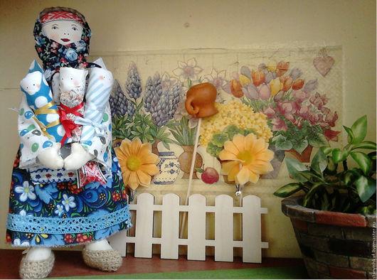 Народные куклы ручной работы. Ярмарка Мастеров - ручная работа. Купить Народная кукла Фрося - оберег семьи. Handmade. Васильковый
