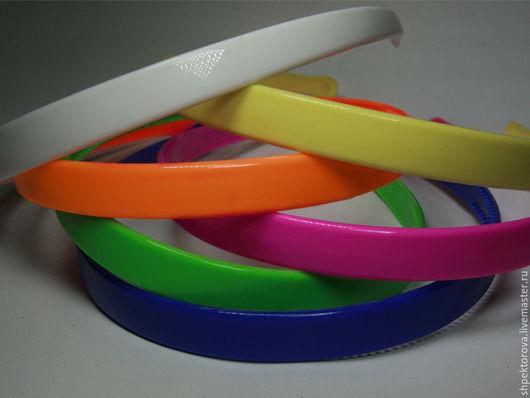 Другие виды рукоделия ручной работы. Ярмарка Мастеров - ручная работа. Купить Ободки пластиковые основа ширина 1,4см. Handmade.