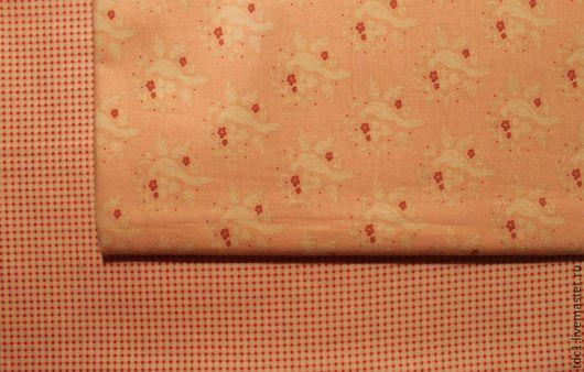 Шитье ручной работы. Ярмарка Мастеров - ручная работа. Купить Тильда ткани. Handmade. Бледно-розовый, тильда хлопок