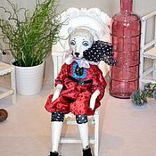 Куклы и игрушки ручной работы. Ярмарка Мастеров - ручная работа Будуарный мишка. Handmade.