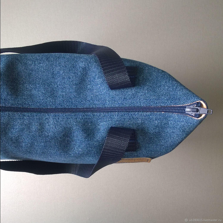 Сумка-шопер Wrangler(синяя фурнитура)