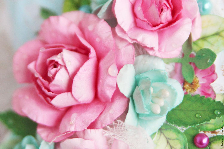 Красивые открытки с цветочками 801