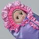 Для новорожденных, ручной работы. Ярмарка Мастеров - ручная работа. Купить Конверт кокон для новорожденного на выписку и на прогулку. Handmade. Конверт