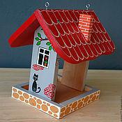"""Для дома и интерьера ручной работы. Ярмарка Мастеров - ручная работа Кормушка """"Дом-4"""". Handmade."""