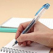 Материалы для творчества ручной работы. Ярмарка Мастеров - ручная работа Ручка чернильная Platinum Preppy 05 M (medium) - темно-синяя. Handmade.