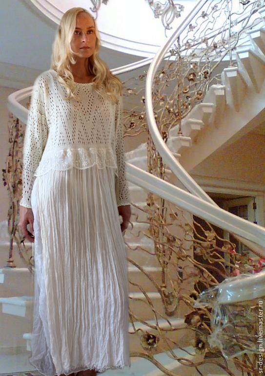платье бохо отражение