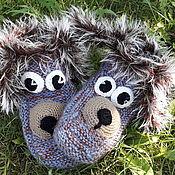 Подарки к праздникам handmade. Livemaster - original item Children`s knitted socks