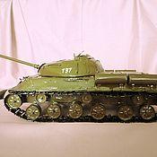 Куклы и игрушки ручной работы. Ярмарка Мастеров - ручная работа Модель советского танка ИС-3. Handmade.