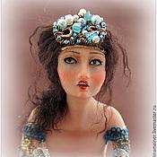 Куклы и игрушки ручной работы. Ярмарка Мастеров - ручная работа Авторская кукла Синяя Птица Сирин. Handmade.