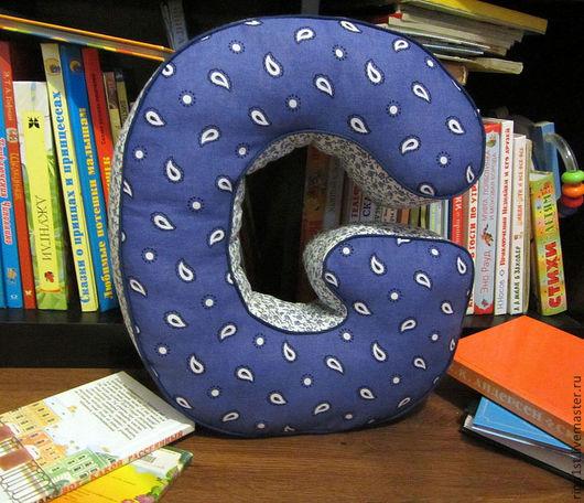 Детская ручной работы. Ярмарка Мастеров - ручная работа. Купить буква подушка ( буква мягкая из ткани ). Handmade.