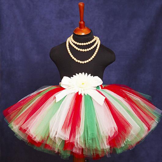 """Одежда для девочек, ручной работы. Ярмарка Мастеров - ручная работа. Купить """"Итальянская вечеринка"""" пышная юбка-пачка из фатина. Handmade."""