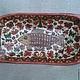 Vintage platter with handles 'Fish'. Ware in the Russian style. albinaustyugova (albinaustyugova). Online shopping on My Livemaster.  Фото №2