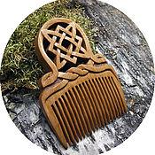 Русский стиль handmade. Livemaster - original item Wooden hair combs, STAR of RUSS. Handmade.