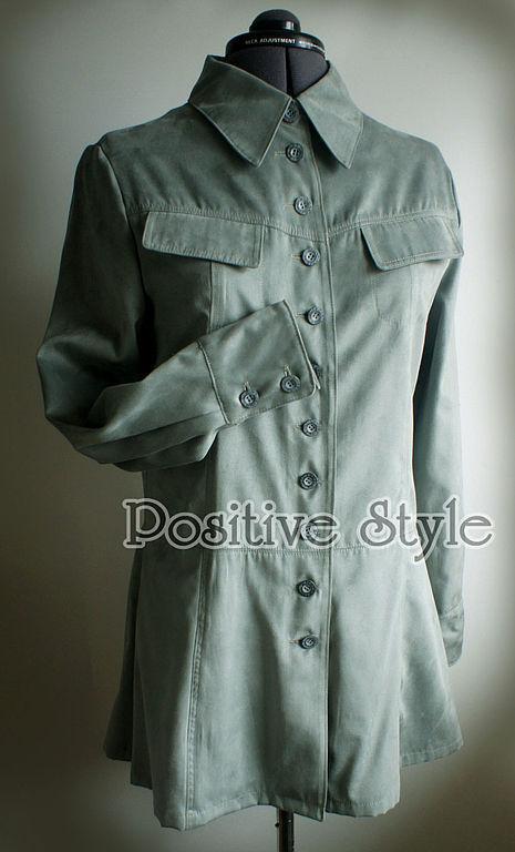 """Блузки ручной работы. Ярмарка Мастеров - ручная работа. Купить Блуза-жакет """"Дора"""". Handmade. Блузка, искусственная замша"""