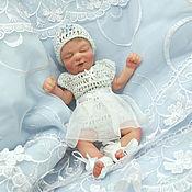 Куклы Reborn ручной работы. Ярмарка Мастеров - ручная работа Полностью силиконовая мини девочка Ася 16 см очень мягкая. Handmade.